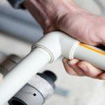 PVC Glue Work